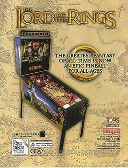 The Lord Of The Rings – Stern Pinball