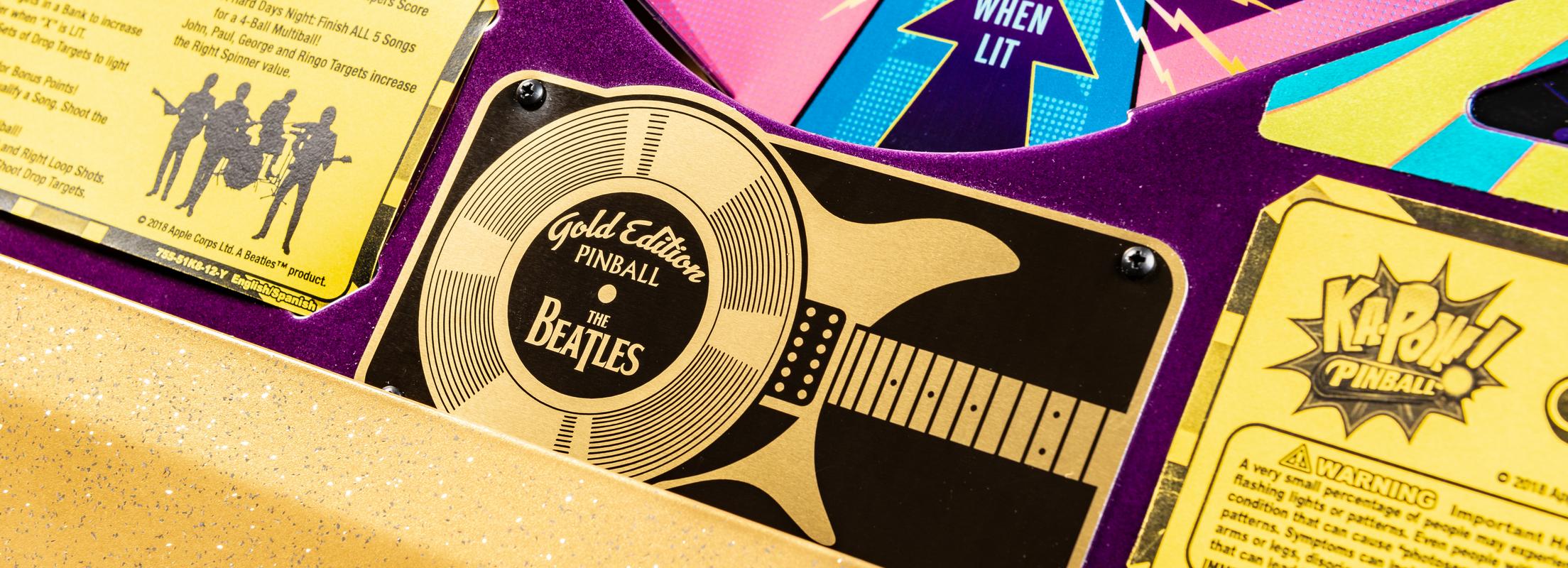 The Beatles and Stern Pinball Announce the First and Only Beatles Pinball Machine Ever Made!