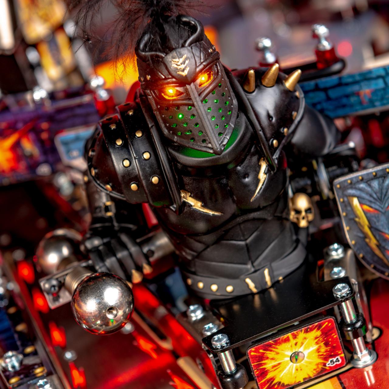Stern Pinball Announces New Black Knight: Sword of Rage Pinball Machines