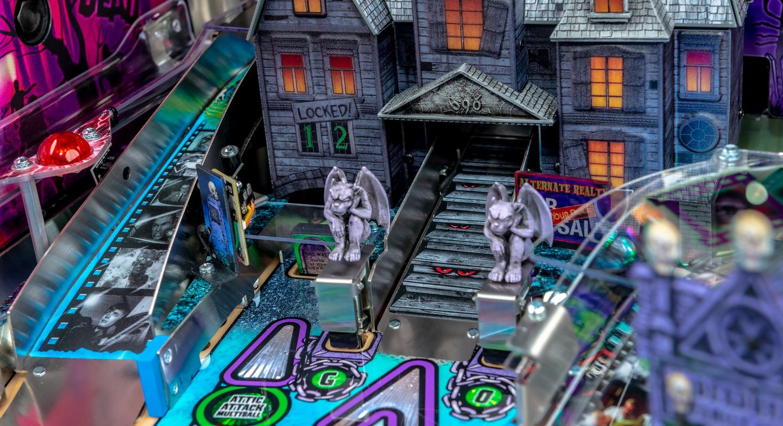 Stern Pinball Announces New Elvira's House of Horrors Pinball Machines