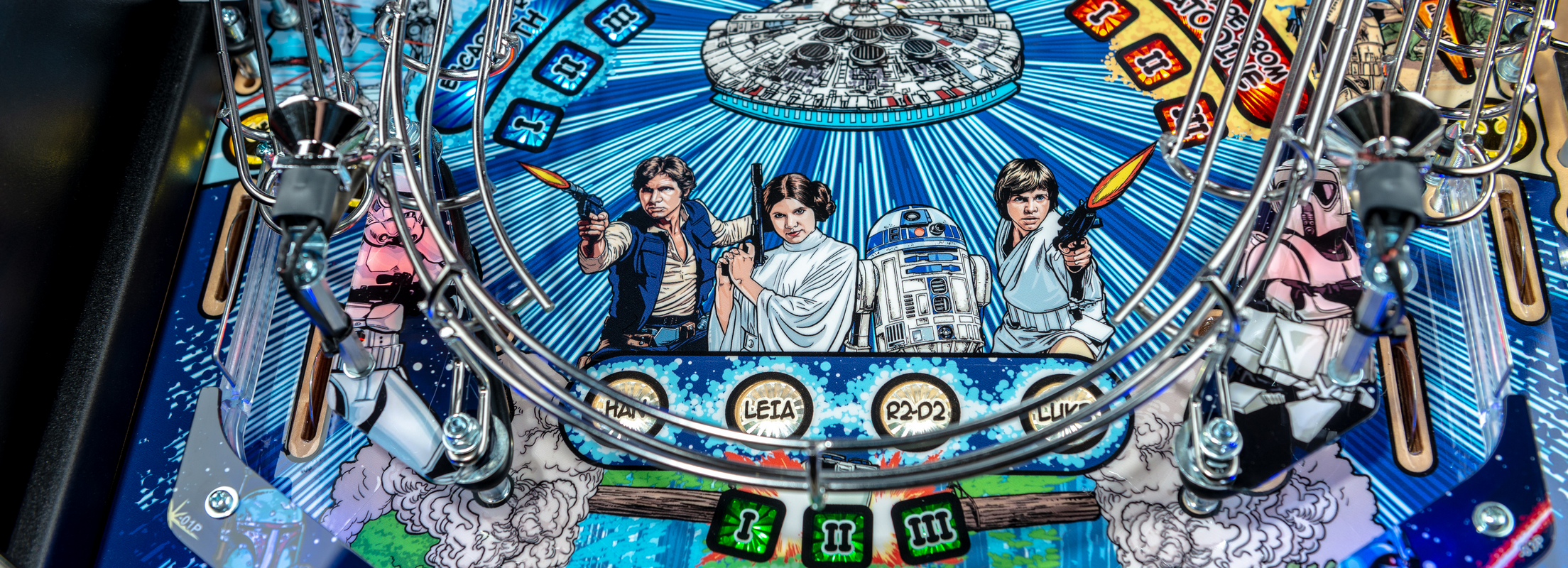 Stern Pinball Announces New Star Wars Comic Art Pinball Machines