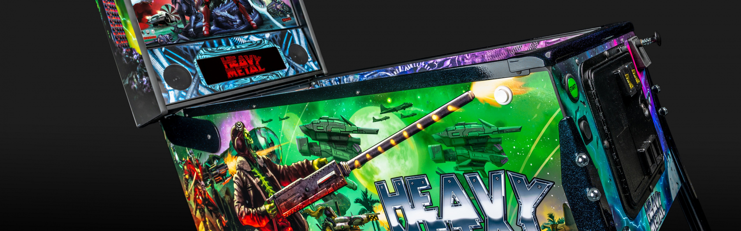 Stern Pinball & Incendium Reveal Official 'Heavy Metal' Pinball Soundtrack