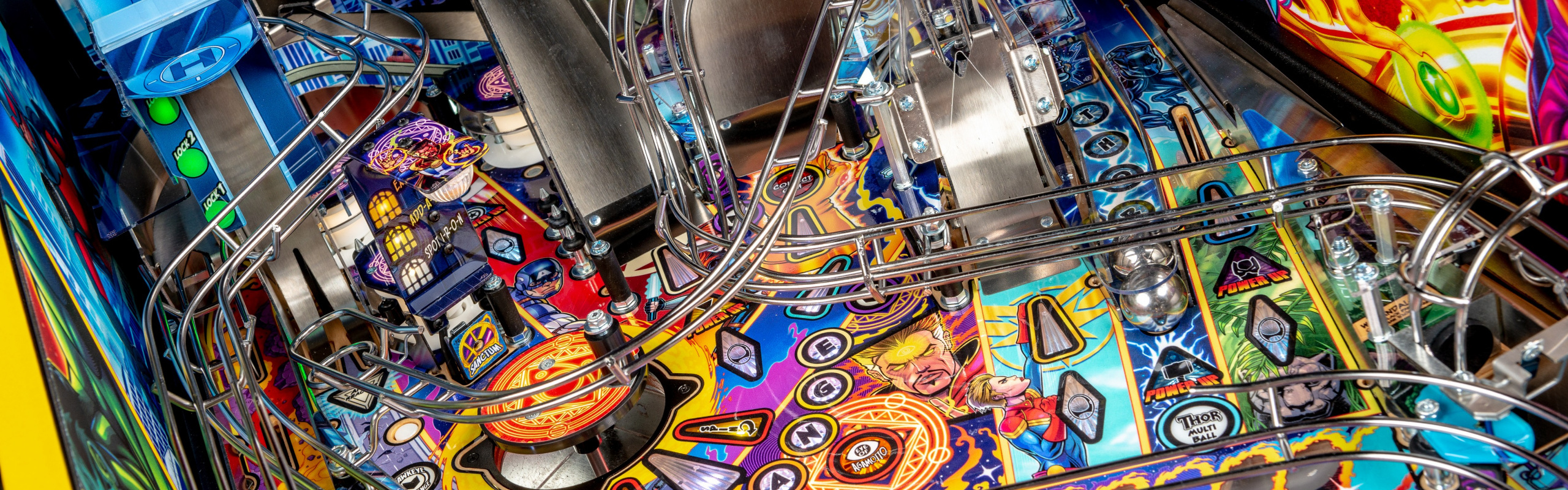 Stern Pinball Announces New Avengers: Infinity Quest Pinball Machines