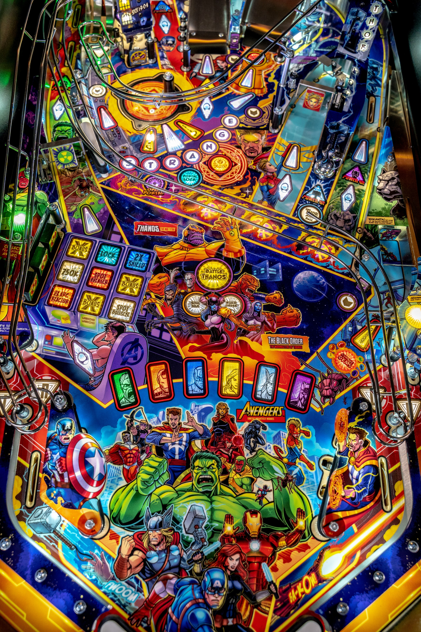 Avengers: Infinity Quest – Stern Pinball