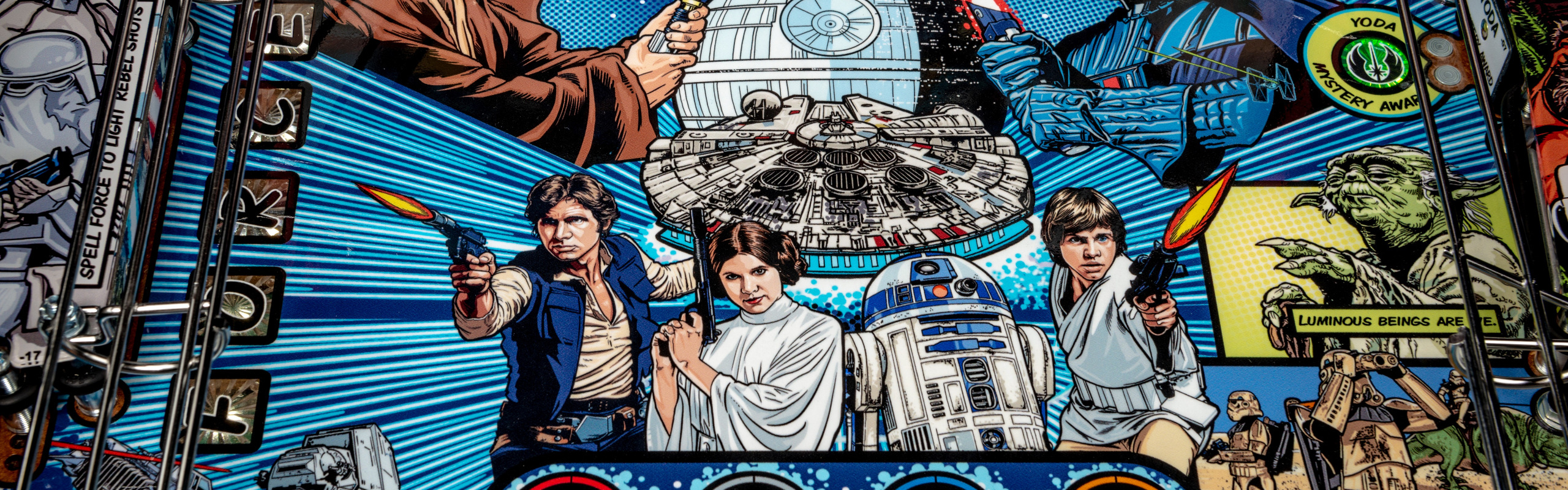 Stern Pinball Announces New Star Wars™ Comic Art Pin™ Affordable Pinball Machine for the Home