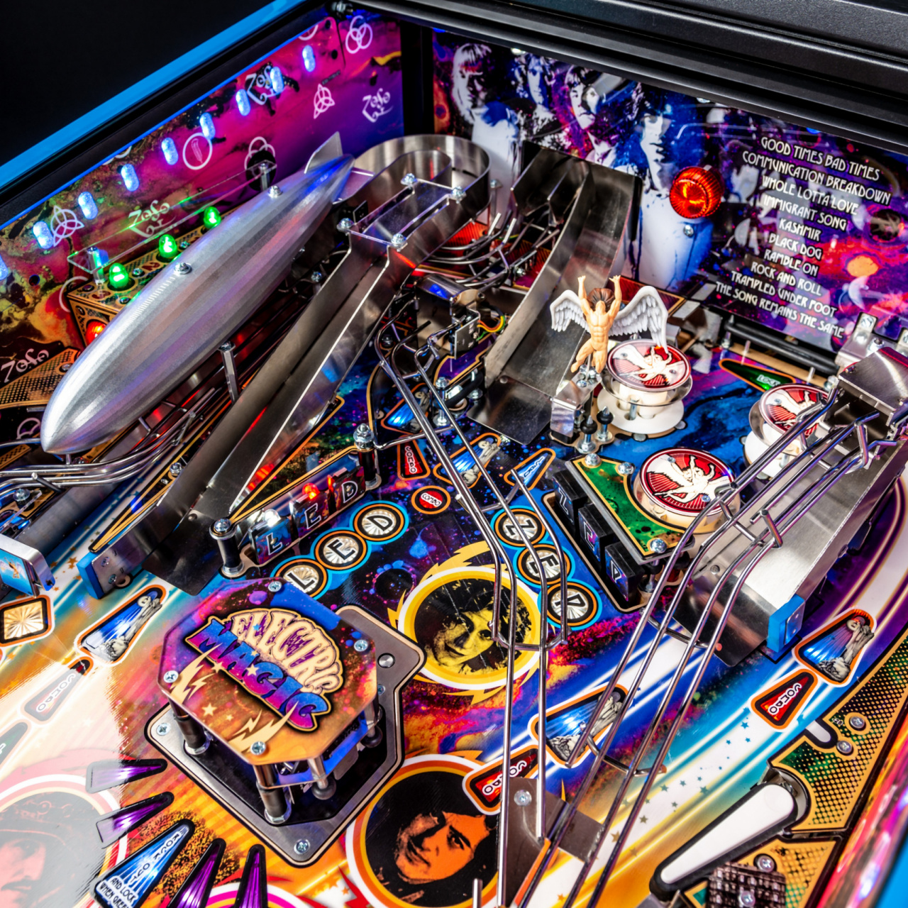 Led Zeppelin and Stern Pinball Announce New Rock and Roll Pinball Machines