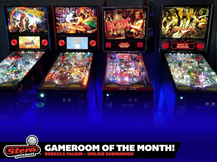August 2021 Gameroom of the Month
