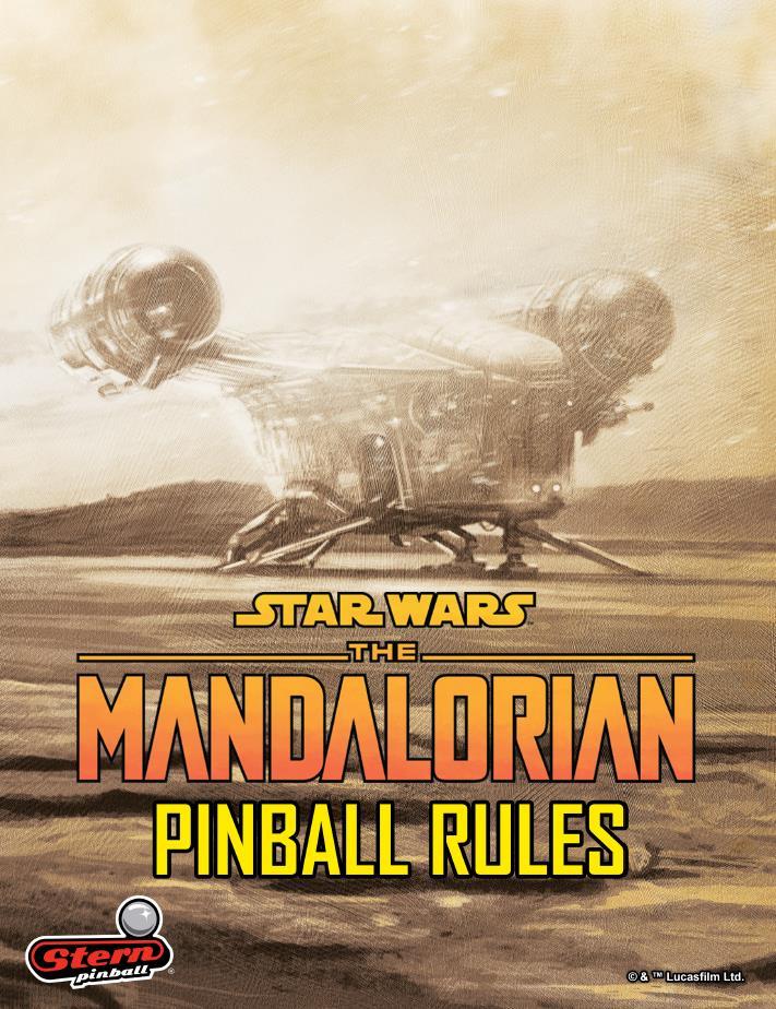 The Mandalorian Pinball Official Pinball Rules