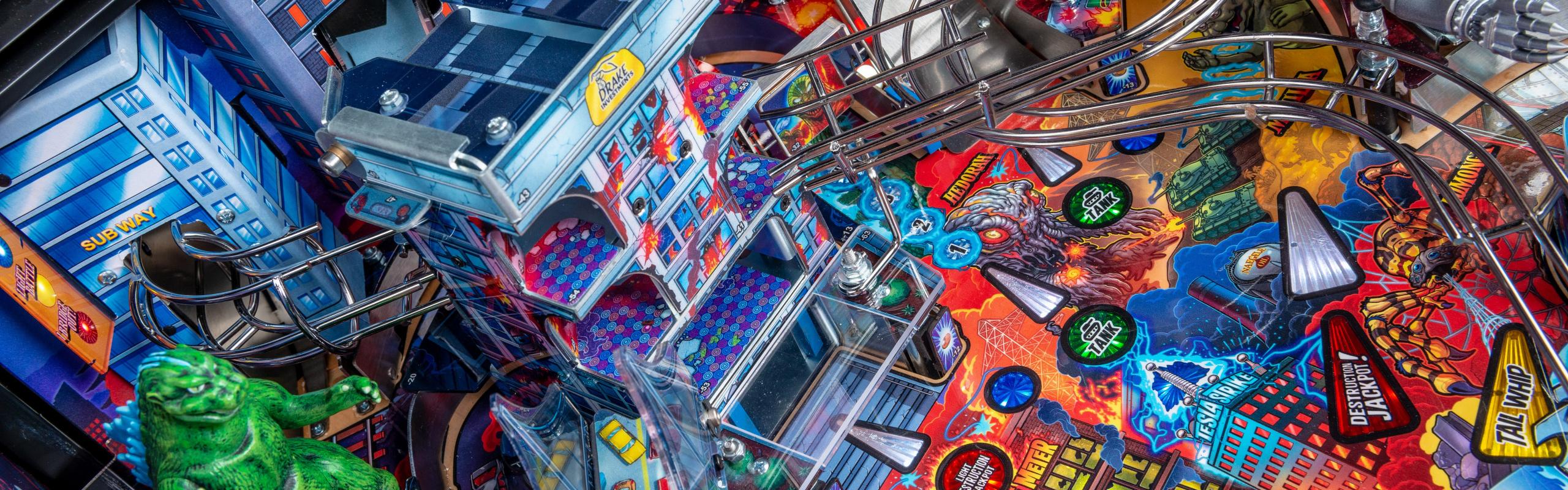 The King of the Monsters Arrives! Toho International, Inc. and Stern Pinball Announce New Godzilla Pinball Machines