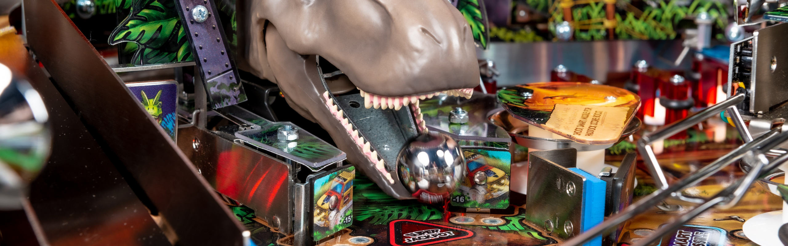 A Pinball Adventure 65 Million Years in the Making… Stern Pinball Announces New Jurassic Park Pin